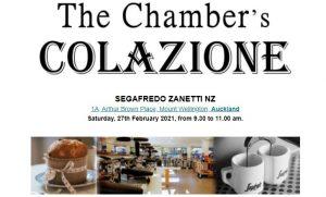 The Chamber's Colazione @ Segafredo Zanetti NZ