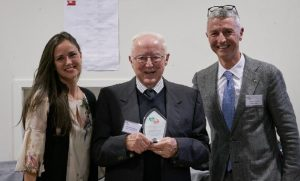 Speech by Gianfranco Ugazzi at the Annual General Assembly 2021 after receiving an appreciation plaque for his contribution to the ICCNZ