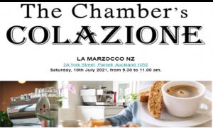 The Chamber's Colazione @ La Marzocco NZ