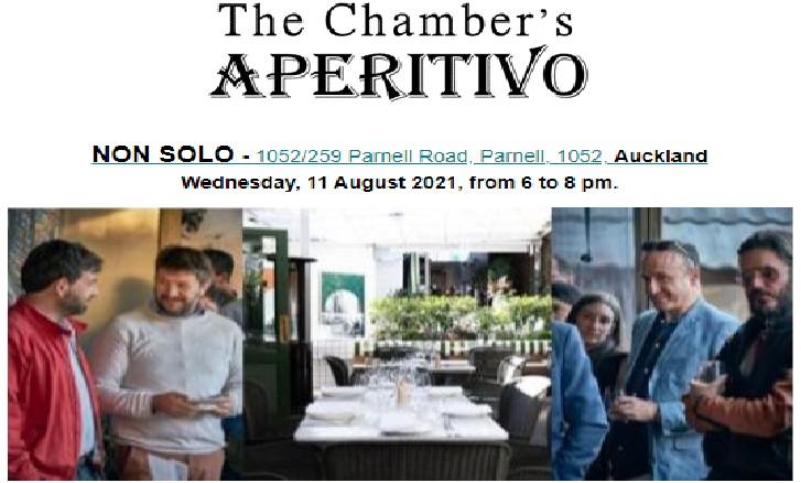 The Chamber's Aperitivo @ Non Solo