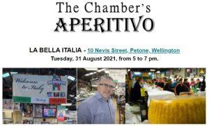 The Chamber's Aperitivo @ La Bella Italia